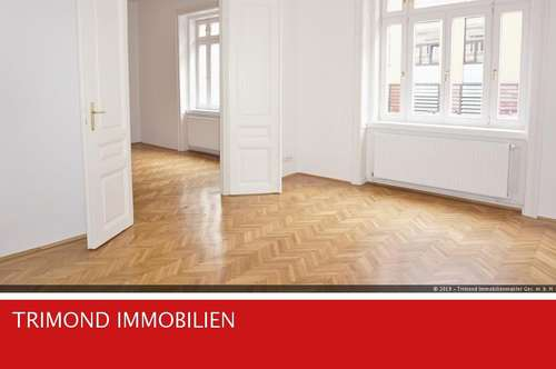 Wunderschöne, neuwertige 3-Zimmerwohnung (WG geeignet) - in einem sehr gepflegtem Stilaltbauhaus!