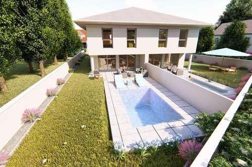 Sichern Sie sich Ihre Doppelhaushälfte in Wels – mit Pool & Garten zum Fixpreis