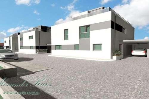 Neubauprojekt, hochwertig ausgestattete Doppelhaushälften Nähe Straßwalchen - Provisionsfrei für den Käufer