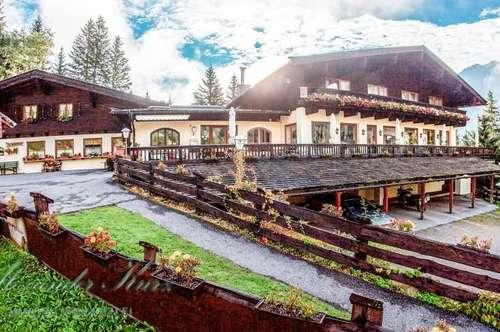 Hotel-Restaurant-Alm in idyllischer Berglage Krimml