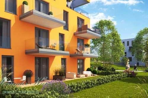 Erstbezug: 3-Zimmer-Terrassenwohnung