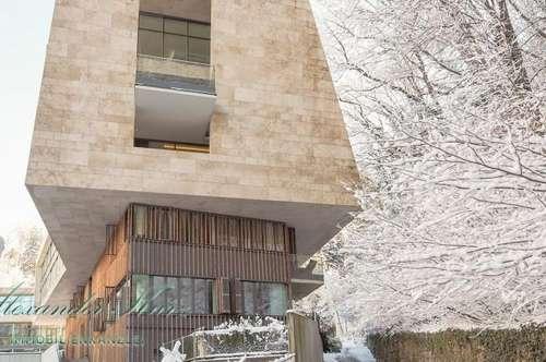 Exklusive Terrassenwohnung am Fuße des Rainbergs in einem architektonischem Juwel