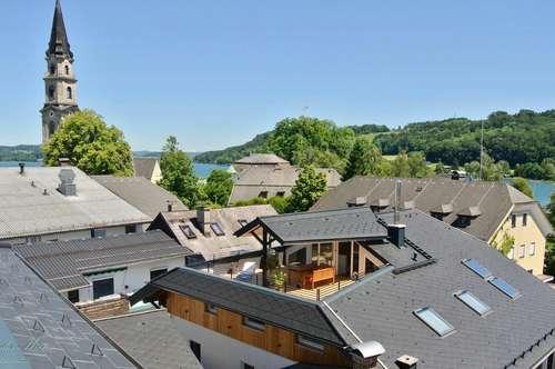 Exklusive Dachgeschoss- Terassen- Loftwohnung im Zentrum von Mattsee