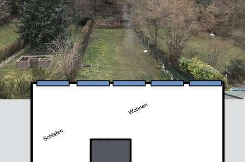 Kleinwohnung Traumhafter Ausblick  Gartenmitbenützung