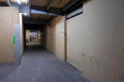 Hallenflächen/Werkräume in verschiedensten Größen mit 24h Zufahrt, Laderampen und PKW Parkplätzen an der B1!