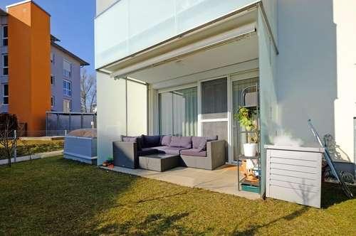 St. Florian Zentrum: Barrierefreie Familienwohnung mit Garten