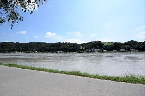 54m² Eigentumswohnung mit Donaublick (Top1) - Erste Reihe zur Donau im Zentrum von Aschach