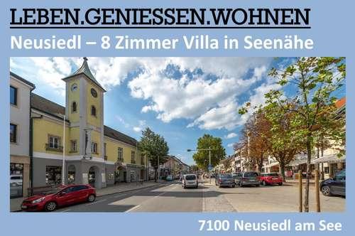NEUSIEDL - 8 ZIMMER VILLA IN SEENÄHE