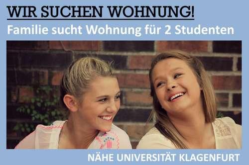 *** FAMILIE SUCHT WOHNUNG IM EIGENTUM FÜR 2 STUDENTEN ***
