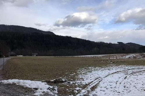 Sankt Jakob im Rosental - Ebenes Baugrundstück in Panoramalage