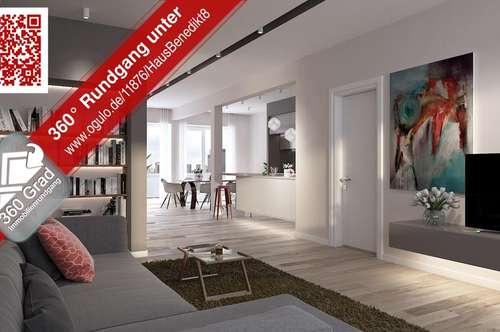FAIR WOHNEN am Benediktinermarkt - TOP 8 Penthouse - Maisonette
