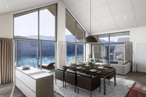 Wohnbauprojekt mit unverbaubarem Seeblick in Bestlage von Millstatt am See - Wohnung TOP A1