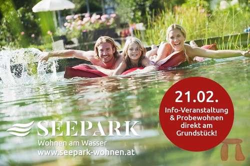 SEEPARK KLAGENFURT - Wohnen am Wasser (Reihenhaus Top 24)
