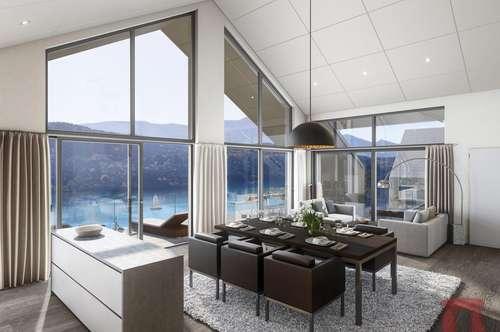 Wohnbauprojekt mit unverbaubarem Seeblick in Bestlage von Millstatt am See - TOP D4