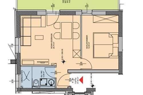Heute kaufen, Ende 2020 bezahlen: 2-Zimmer-Wohnung im Investoren-Projekt