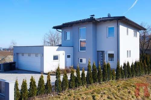 Modernes Einfamilienhaus mit Doppelgarage in Klagenfurt-Harbach