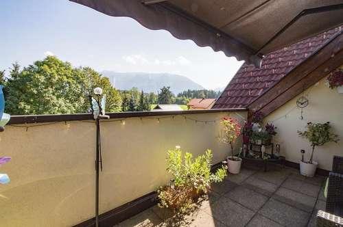 Balkonwohnung mit Bergpanorama