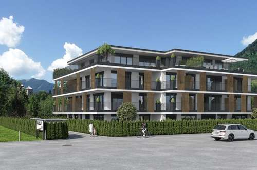 Neubau Eigentumswohnung - Grüne Lounge Top 4