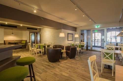 Der Traum vom Restaurant/Lounge-Cafe wird wahr.