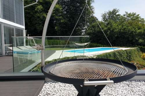 Sofort verfügbar: Velden Wörthersee, top-moderne MIETwohnung Seeblick/Pool