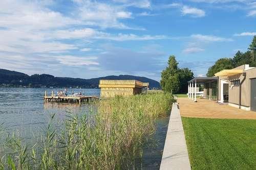 ---Wörthersee Südufer: Servicierte Eigentumswohnungen mit Seezugang---