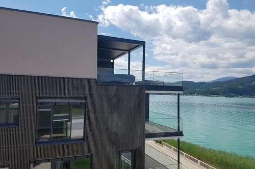 ---Wörthersee Südufer: Servicierte Eigentumswohnung mit Seezugang---