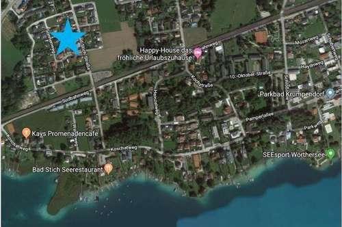 Krumpendorf: Neubauwohnung mit Seezugang