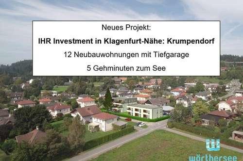 INVESTMENT für Anleger - Neubauwohnungen in Krumpendorf