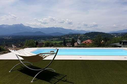 Top-moderne MIETwohnung mit Seeblick und Pool