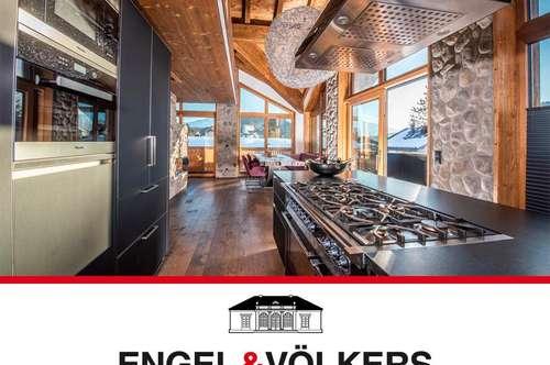 Spektakuläre Villa in alpinem Stil in Toplage
