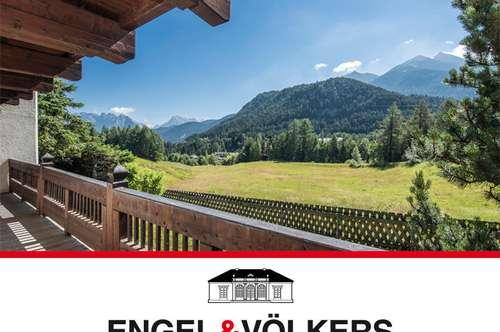 Landhaus mit Bergblick in Traumlage