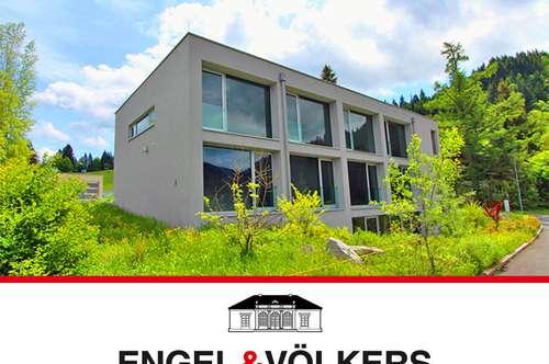 Modernes Wohnen vor alpiner Kulisse