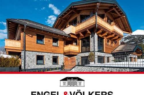 Spektakuläre Villa in Alpinem Flair in Toplage