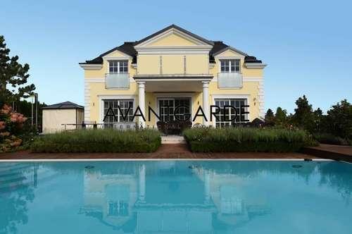 Luxuriöse Einfamilienvilla mit Außenpool