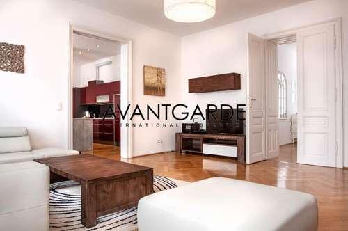 Voll möblierte, luxuriöse Wohnung in zentraler Lage