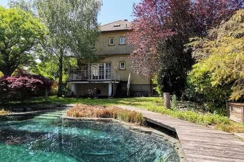 Langenzersdorf - Einfamilienhaus mit Schwimmteich