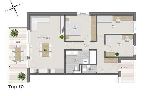 Exklusive 4-Zimmerwohnung zur Miete!