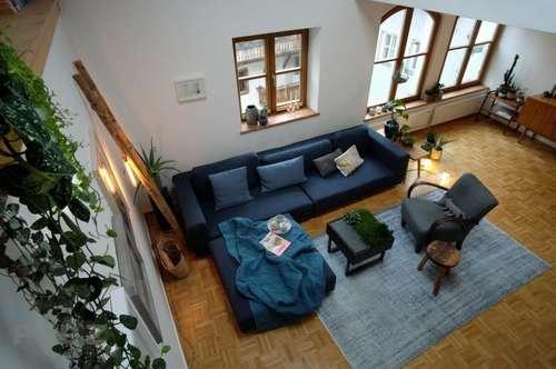 3-Zimmer-DG-Maisonette-Wohnung in Hallein/Altstadt mit Wohlfühlgarantie