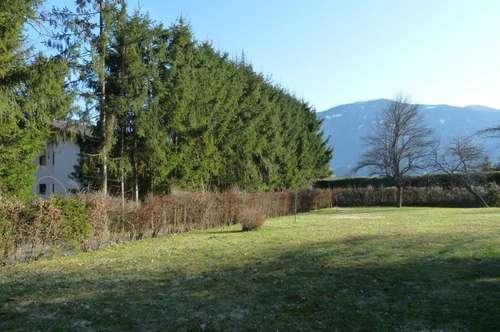 Wohnhaus in sehr schöner Sonnenlage und mit bezauberndem Ausblick auf die Kärntner Bergwelt