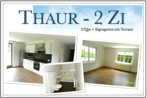 gepflegte 2 Zi-Wohnung 57qm + Südterrasse + 1 AAP