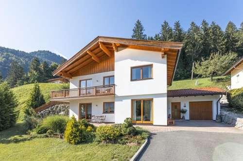 Modernes Einfamilienhaus im grünen Paradies von Walchsee