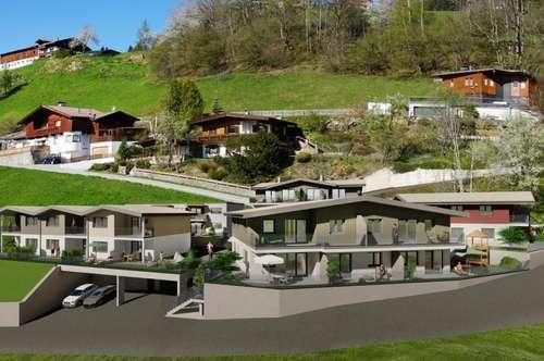 Wohnhausanlage Schlossblick! NEUBAU Reihenhaus in Itter zu verkaufen!