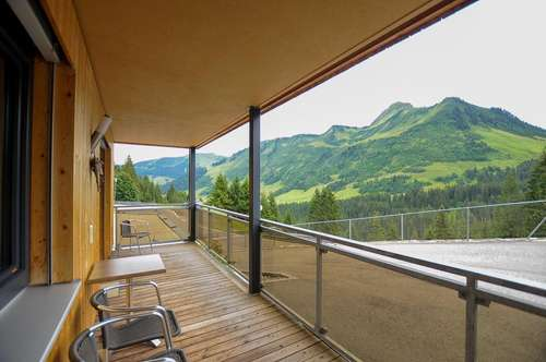 Ferienwohnungen in Damüls zu verkaufen - mit herrlichem Weitblick auf die umliegende Bergwelt