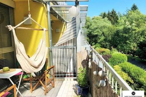 Ragnitz // PERFEKTE 1 Zimmerwohnung mit Blick ins grüne
