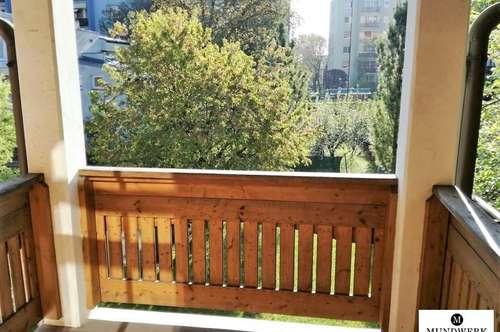 großzügige & helle 2 Zimmerwohnung in Strassganger Ruhelage + Balkon ins Grüne!