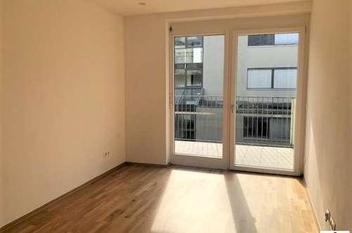 Neuwertige 2 Zimmer Wohnung - EGGENBERG - TG-Platz und Terrasse!