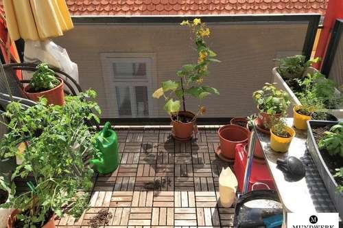 GEIDORF / NÄHE HASNERPLATZ - 2 Zimmerwohnung mit sonnigem Balkon - ab sofort!