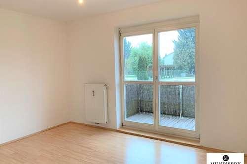 ST.PETER - 3 Zimmer Wohnung mit Balkon, Garten und TG Platz - ab sofort!