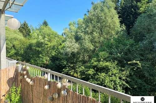 Ruhelage - RAGNITZ - 1 ZIMMER WOHNUNG mit Balkon & Blick ins Grüne - ab sofort!
