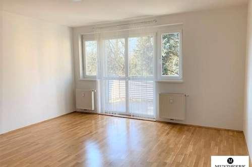 Eggenberg/Studentenhit: Gemütliche 1 Zimmer Wohnung - mit Balkon - ab sofort!